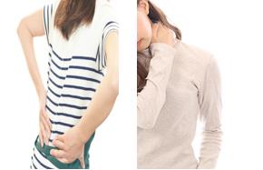 肩こりと腰痛はなぜ多い?併発しやすい理由と両方に効くツボ